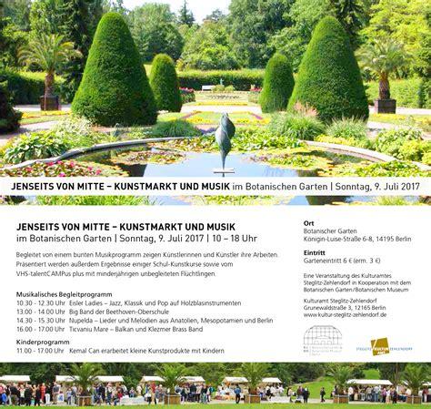 Botanischer Garten Berlin Musik by 09 07 2017 Botanischer Garten Berlin Jenseits