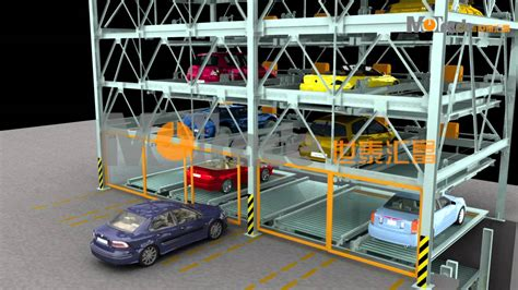 -3+5 Automated Hydraulic Puzzle Parking System