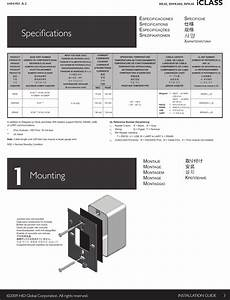 Hid Global Rk40c Rfid Reader  Keypad User Manual Iclass