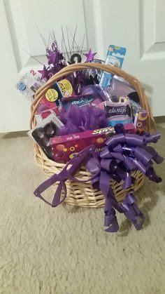 purple gift baskets images homemade birthday