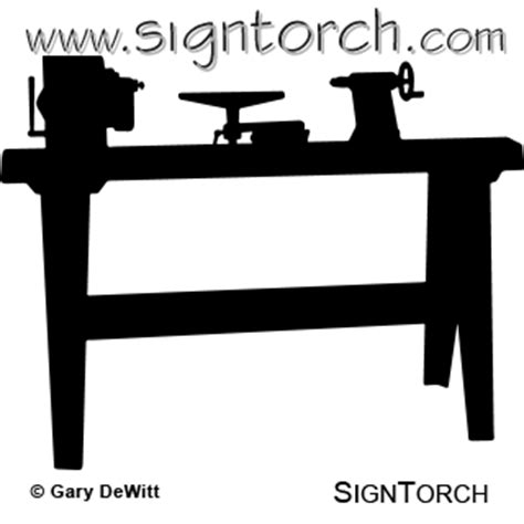 wood lathe signtorch turning images  vector cut