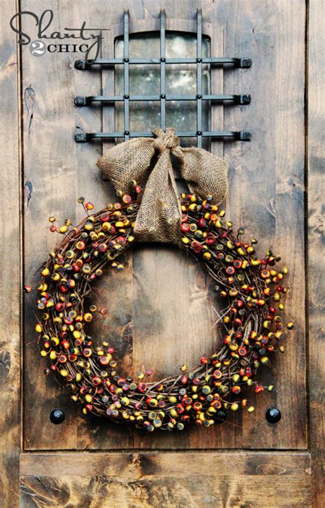 Diy Fall Wreath  Fireside Dreamers