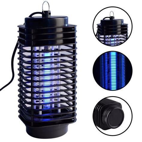 pic mosquito killer electric mosquito fly bug insect zapper killer with trap l 110v black light mosquito killer