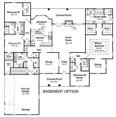 basement plan high resolution free house plans with basements 11 house
