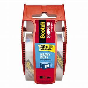 Scotch Packaging Tape Heavy Duty With Dispenser 50 8mm X