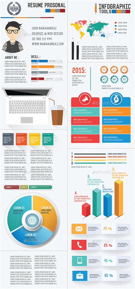 clean infographic resume vol 2 rapidshare 187 dondrup