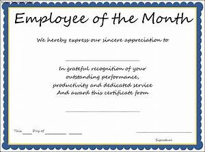Interesting Certificate Template Example For Employee Of