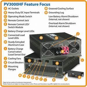 3000w Powerverter Compact Inverter Trucks 4 Outlets