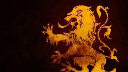 Lion Shield Royal Symbol Emblem Yellow Sign