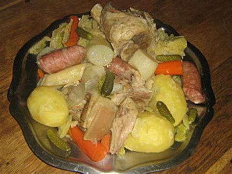 recette de potee auvergnate les meilleures recettes d auvergne et pot 233 e auvergnate