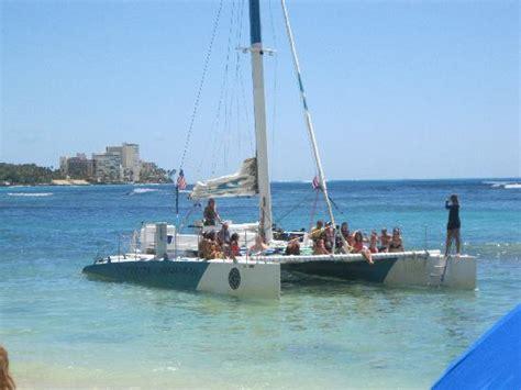 Catamaran Trips In Honolulu by Catamaran Picture Of Honolulu Oahu Tripadvisor