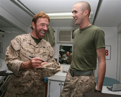 chuck norris hometown dvids images chuck norris visits marines image 6 of 7
