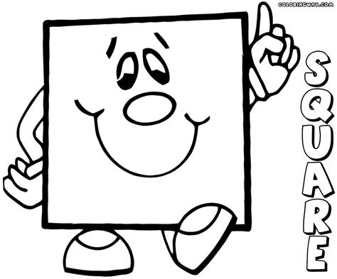square coloring pages coloring pages    print