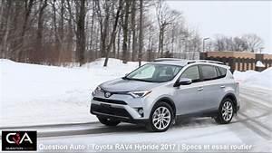 4x4 Toyota Hybride : 2017 toyota rav4 hybride sp cifications et essai routier essai ultra complet partie 3 8 ~ Maxctalentgroup.com Avis de Voitures