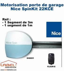 motorisation porte de garage nice spinkit 22kce grande With motorisation porte de garage nice