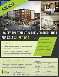 apartment sell flyer by dotnpix graphicriver With apartment flyers free templates