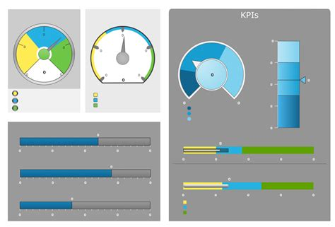 conceptdraw samples dashboards  kpis