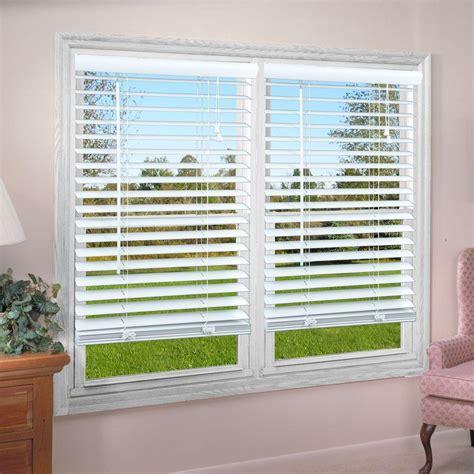 perfect lift window treatment white   premium vinyl