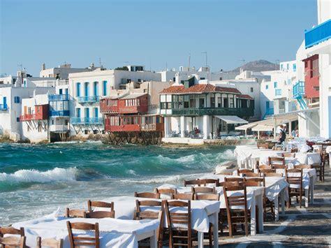 Mykonos Greece The Golden Scope