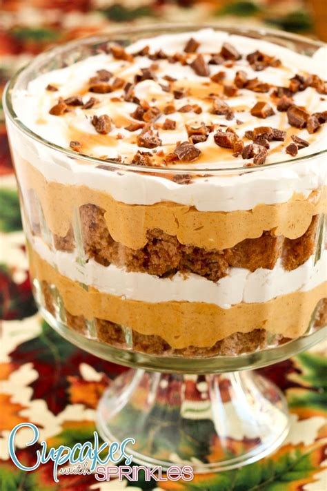 Pioneer Woman Pumpkin Puree by Cupcakes With Sprinkles Pumpkin Mousse Trifle