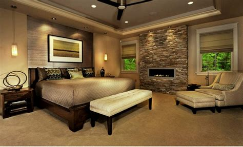 Better Master Bedroom Ideas With Fireplace  Mosca Homes