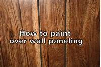 how to paint over wood paneling How to Paint Paneling • Binkies and Briefcases