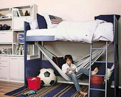 Bunk Bed Hammock by The Hammock A Loft Bed Idea Great Reading