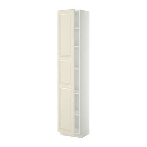 metod armoire avec tablettes blanc bodbyn blanc cass 233