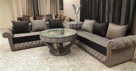 tissu pour canapé pas cher ameublement salon marocain moderne décor salon marocain