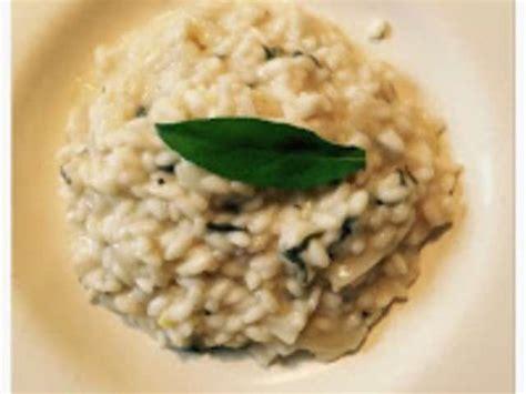 la sauge en cuisine recettes de riz arborio