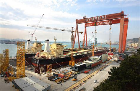 shipyard hyundai heavy industries ulsan ulsan