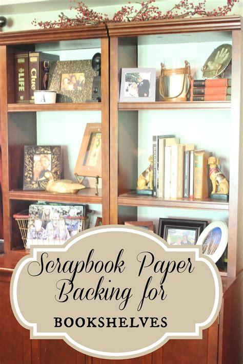 golden boys   bookshelves updated  scrapbook paper