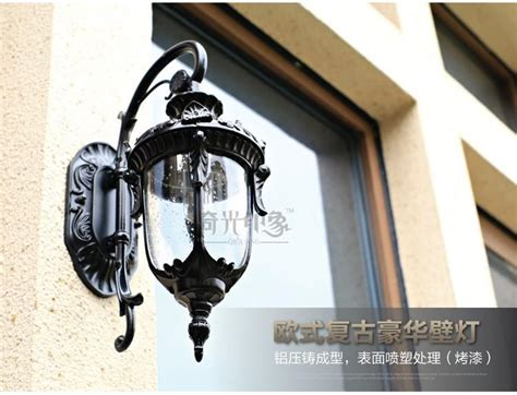 Vintage Led Wall Lamp Outdoor Wall Sconce Lighting