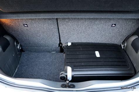 seat mii kofferraum seat mii ecofuel sparsamer citygef 228 hrte newcarz de
