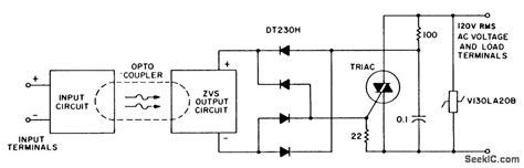 Integrated Solid State Relay Control