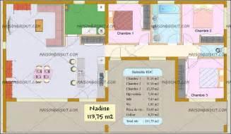 plan maison bois plain pied 4 chambres cout maison m2 prix maison maison r1 en structure mtal