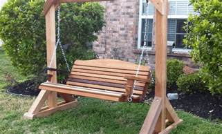 front porch swing plans photo gallery how to build small wooden porch swing glider frame
