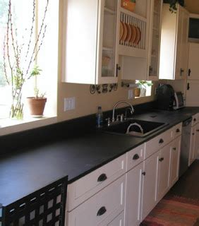 Black Laminate Countertops by This S A Chill In The Air