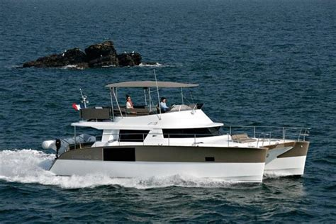 Power Catamaran Boat Names by Fountaine Pajot Cumberland 47 Lc Power Catamaran Boats
