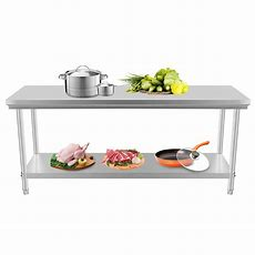 Commercial Kitchen Stainless Steel Work Food Prep Table 24