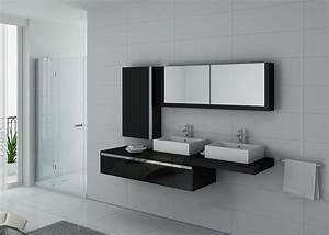 Meuble De Salle De Bain Solde : meuble salle de bain ref dis9551n ~ Teatrodelosmanantiales.com Idées de Décoration