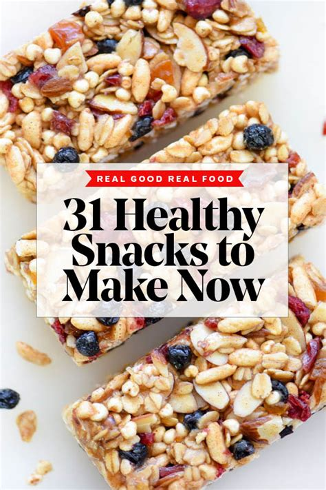 31 days of healthy snack recipes to make now foodiecrush
