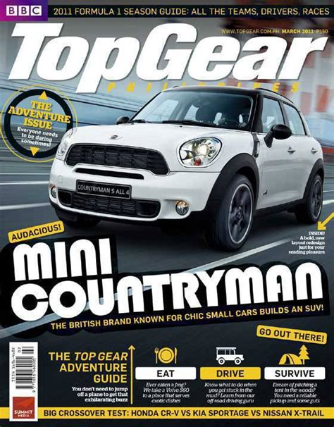 Top Gear Philippines by Peek Top Gear Philippines March 2011 Cover