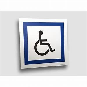Panneau Stationnement Handicapé : panneau de parking handicap plat ou couvre chant ~ Medecine-chirurgie-esthetiques.com Avis de Voitures