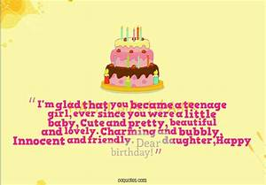 I'm glad that you became a teenage girl – quotes