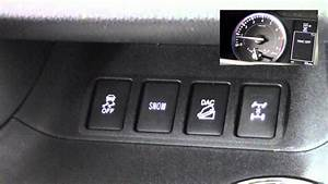 2014 Toyota Highlander Traction And Stability Control How