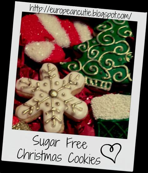 Sugar free brown butter pecan cookies are what you get when you mix sweet and salty in a cookie. European Cutie ♥: Sugar Free Christmas Cookies