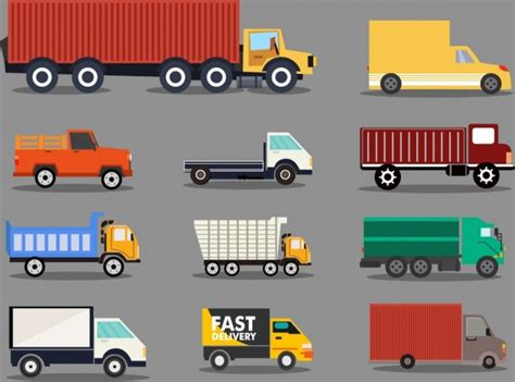 Truck Vector Free Vector Download (456 Free Vector) For