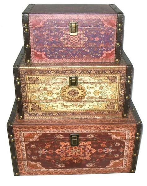 style earth tones decorative storage boxes