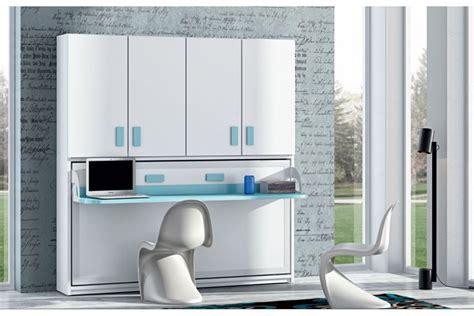 armoire lit bureau escamotable armoire lit escamotable horizontale bureau rabatable